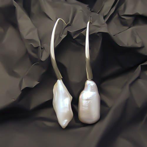 Pendientes de perlas cultivadas