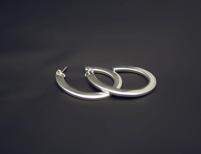 Aros de plata